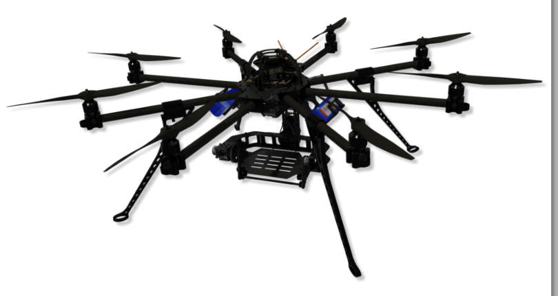 Mobile octocopter