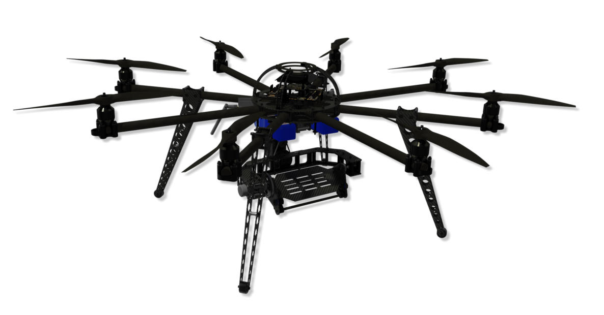 Complete aerial photography solution drone